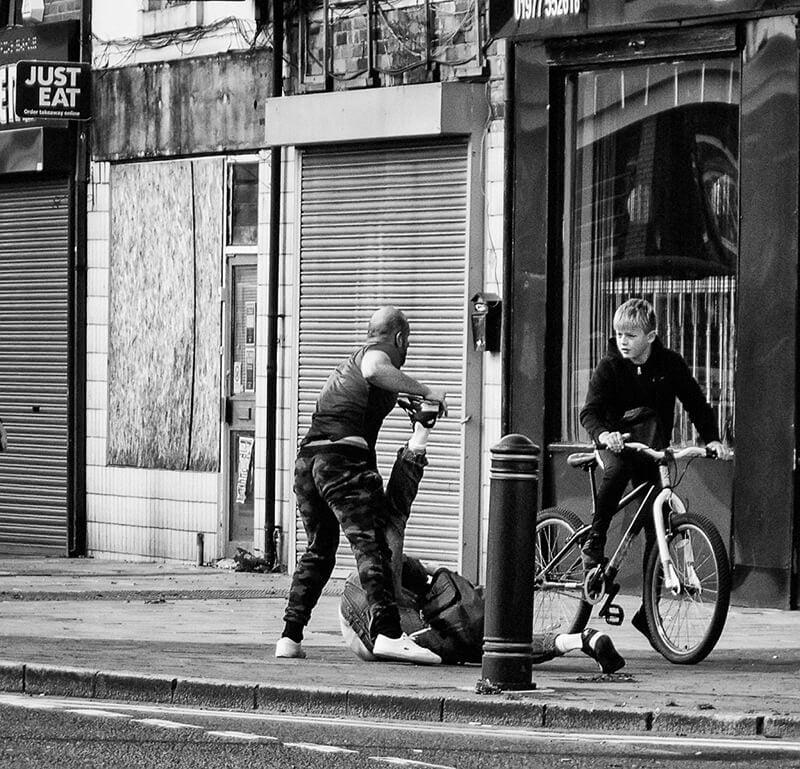 Street fight, Castleford