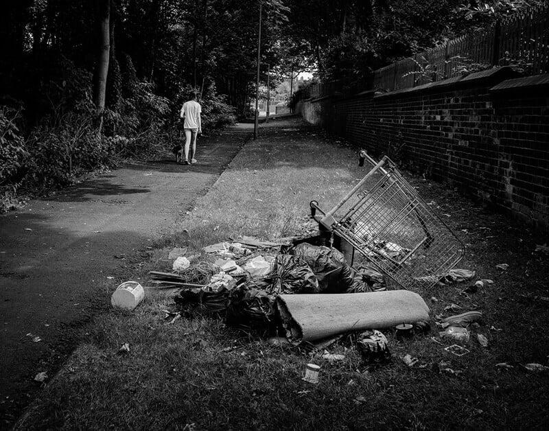 Dumped rubbish, Castleford