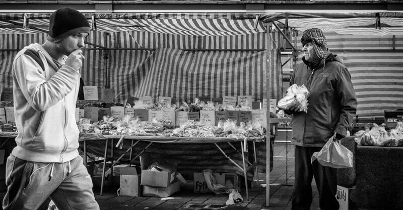 Castleford outdoor market
