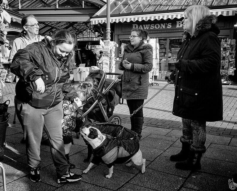 Dewsbury Market, West Yorkshire