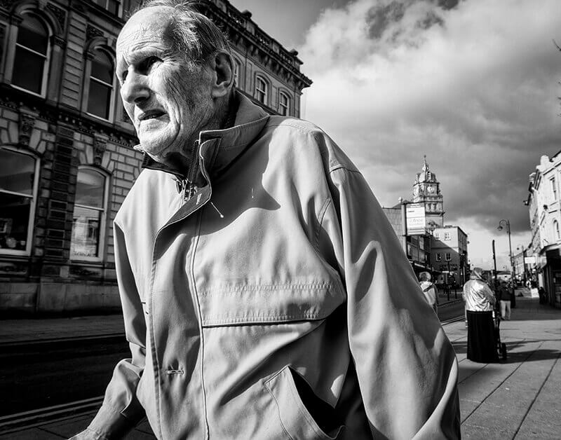 Street photography, Dewsbury, Yorkshire