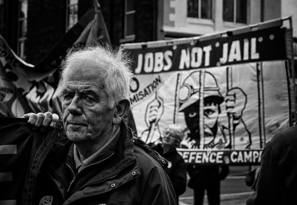 Kellingley Colliery closure march