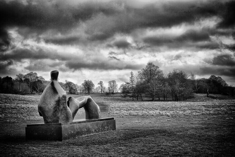 Henry Moore at Yorkshire Sculpture Park
