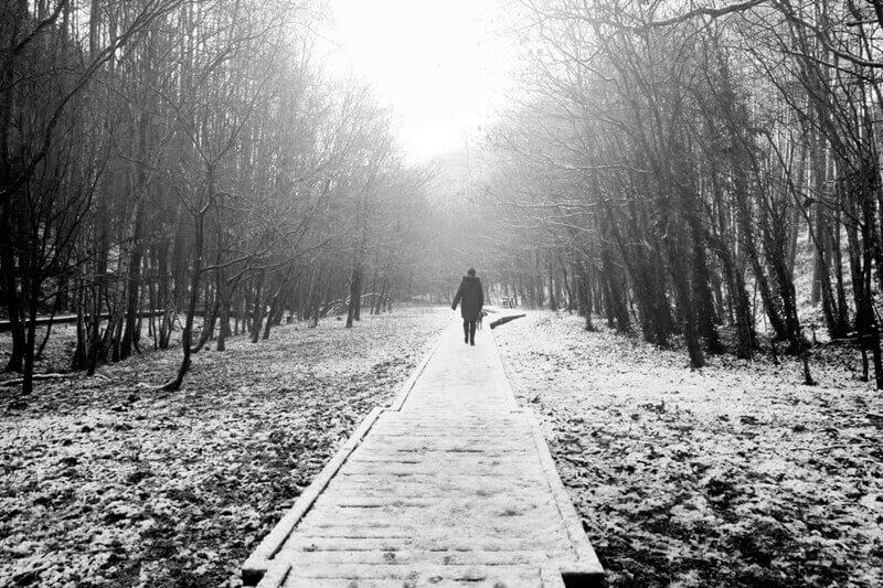 Newmillerdam in winter