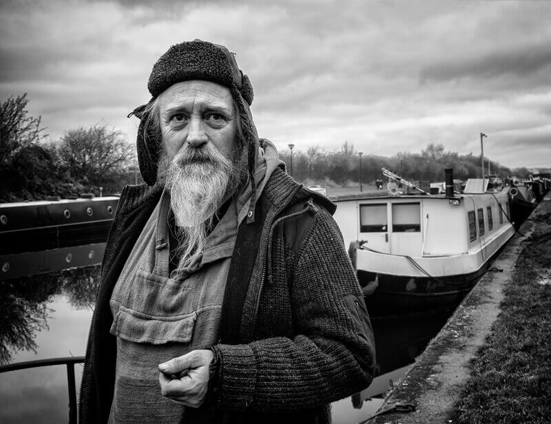 Gary, Canal Boat owner, Stanley Ferry Wakefield