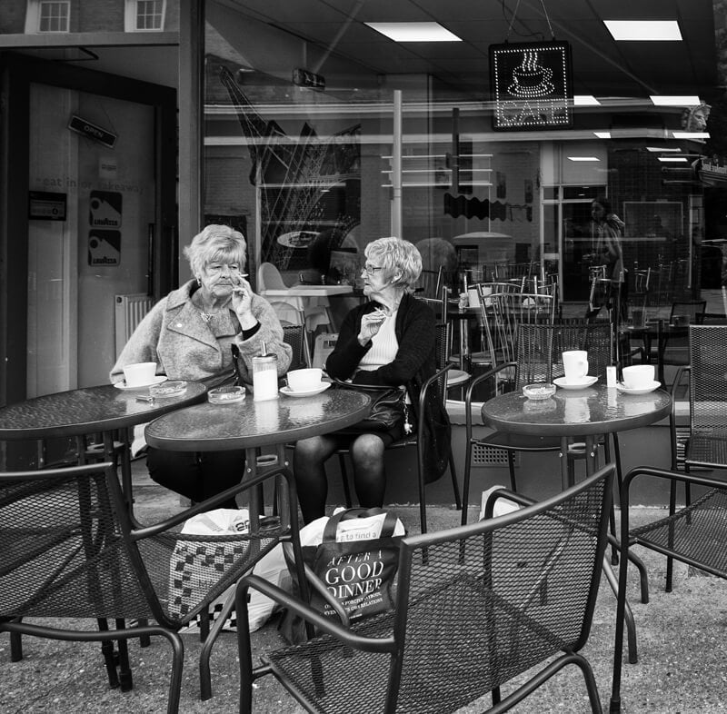 Cafe - Kingston upon Hull photographs