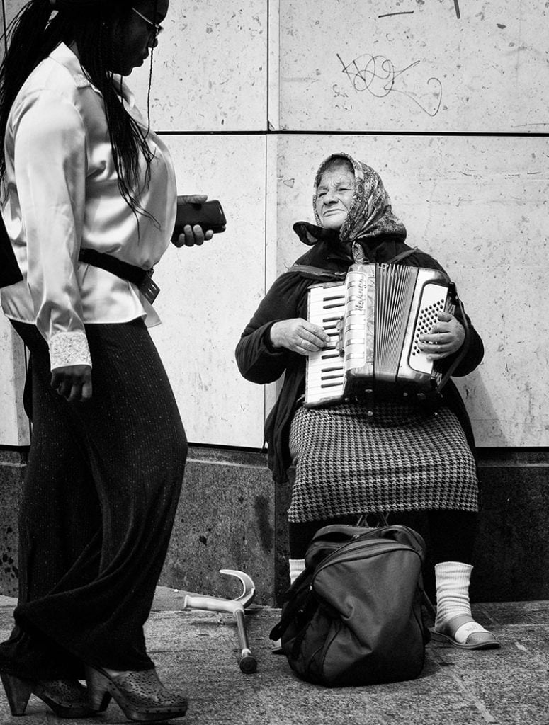 Busker, Liverpool