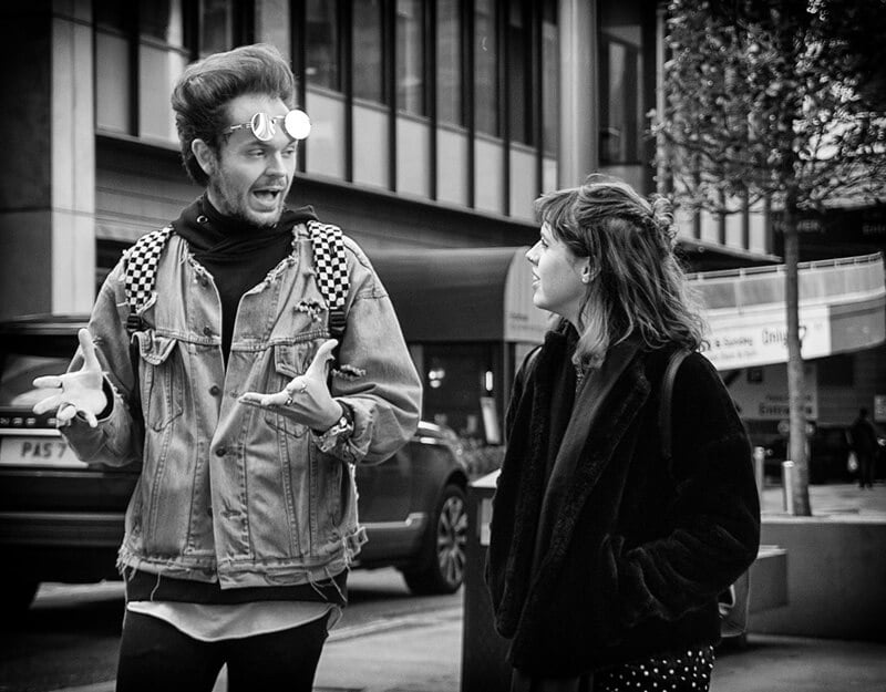 Street photograph, Manchester