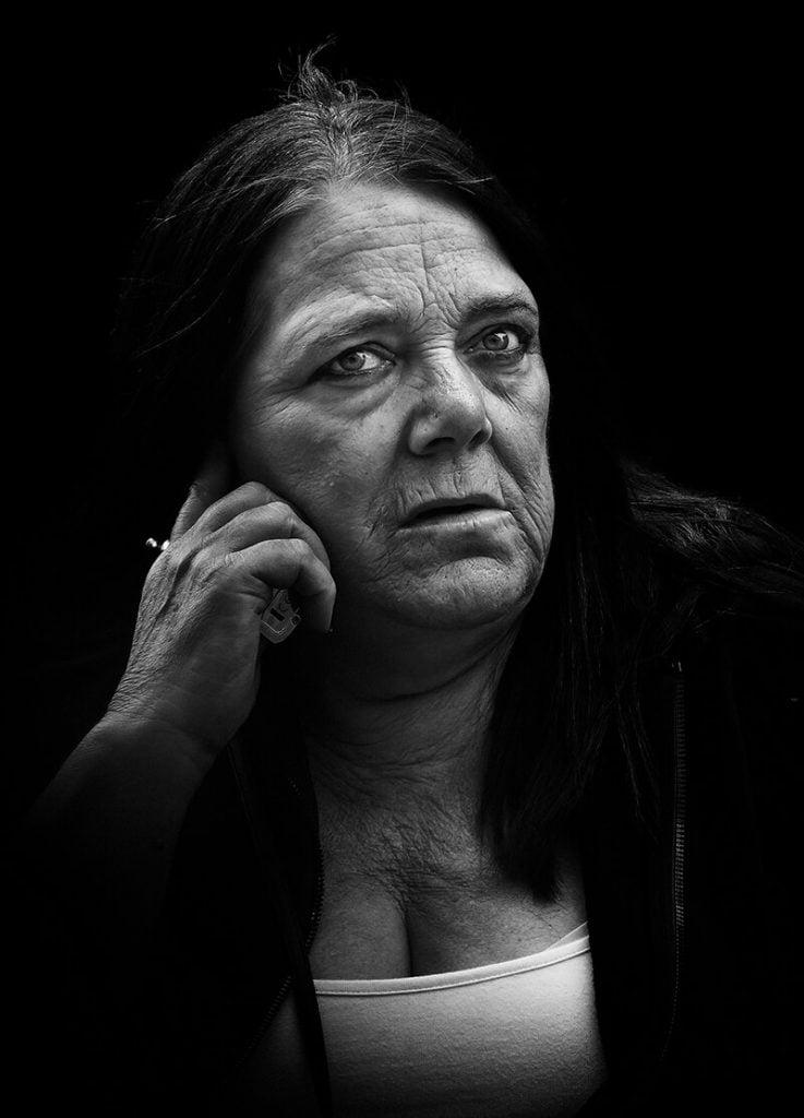 portarit of woman
