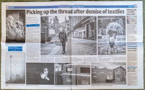 Bradford Telegraph and Argus feature on After the Coal Dust