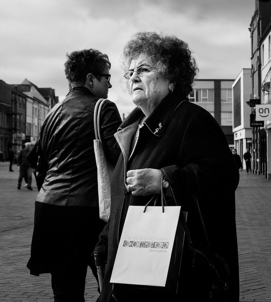 shoppers in Redcar